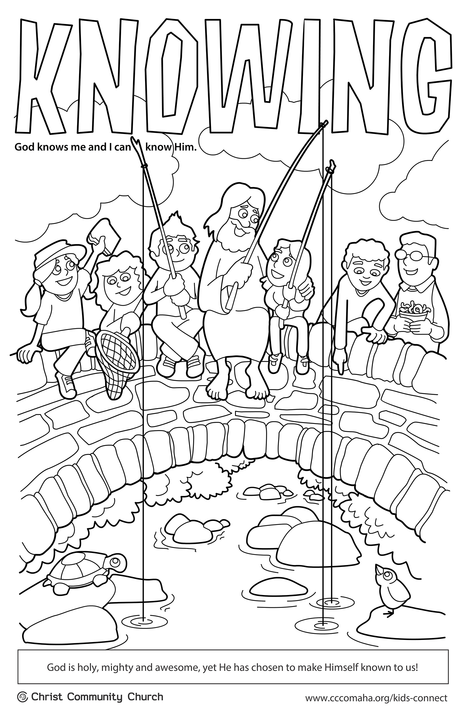 I Created These Coloring Pages In 2013 For The Kids Connect Team At Christ Community Church Coincided With Curriculum Themes Such As